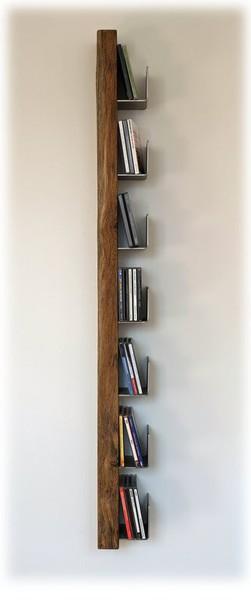 Der Eigenen CD  Sammlung Bietet Das CD  Regal U201eWeeku201c, Das Ebenfalls Aus  Eiche  Altholz Gefertigt Ist. Ein Optisches Highlight Für Jedes Wohnzimmer.